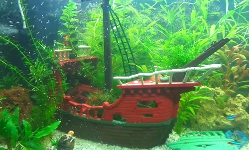 Shipwreck Aquarium Decorations