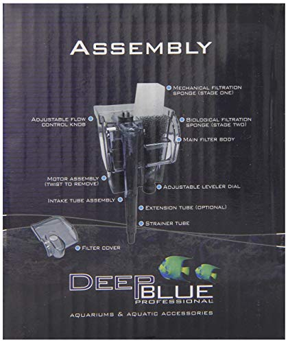 Deep Blue Professional ADB88700 Biomaxx Nano Filter