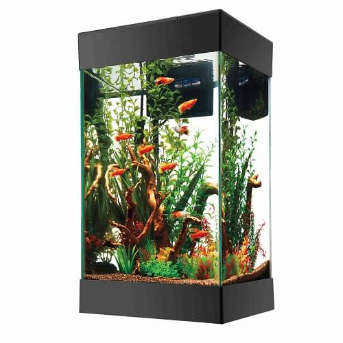 Aqueon 15 gallon column aquarium